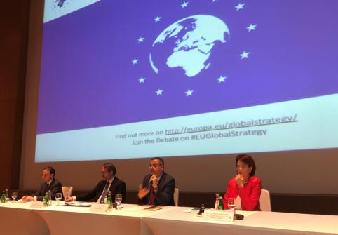 HBKU's College of Humanities and Social Sciences Seminar Examines EU Strategy and Developments