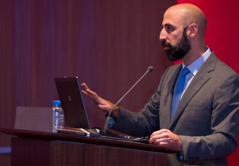 Dr Elias Muhanna at TII's public talk