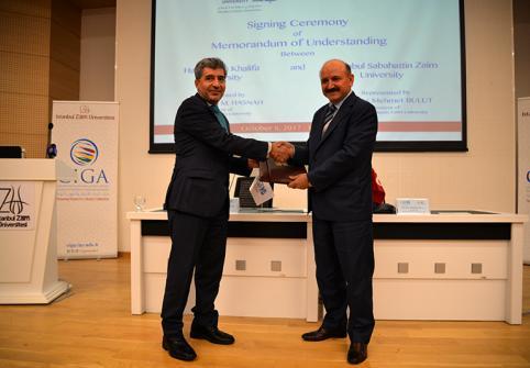 Hamad Bin Khalifa University Signs an Agreement with Istanbul Sabahttin Zaim University