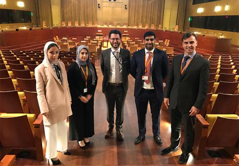 HBKU Law Students Excel at International Moot Court Competition  and Visit EU's Court of Justice