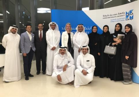 HBKU Hosts Law Seminar on Qatar's Legal System for Visiting Delegation from the UK's De Montfort University