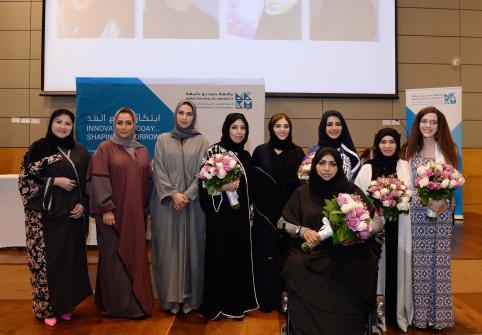 TII Hosts Art Exhibition in Celebration of International Women's Day