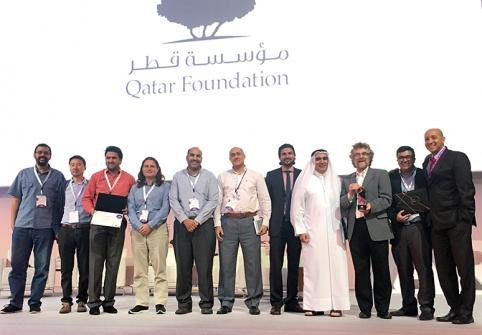 نظام النسخ المتقدم من معهد قطر لبحوث الحوسبة يحصد جائزة )أفضل ابتكار( في المؤتمر السنوي للبحوث 2018
