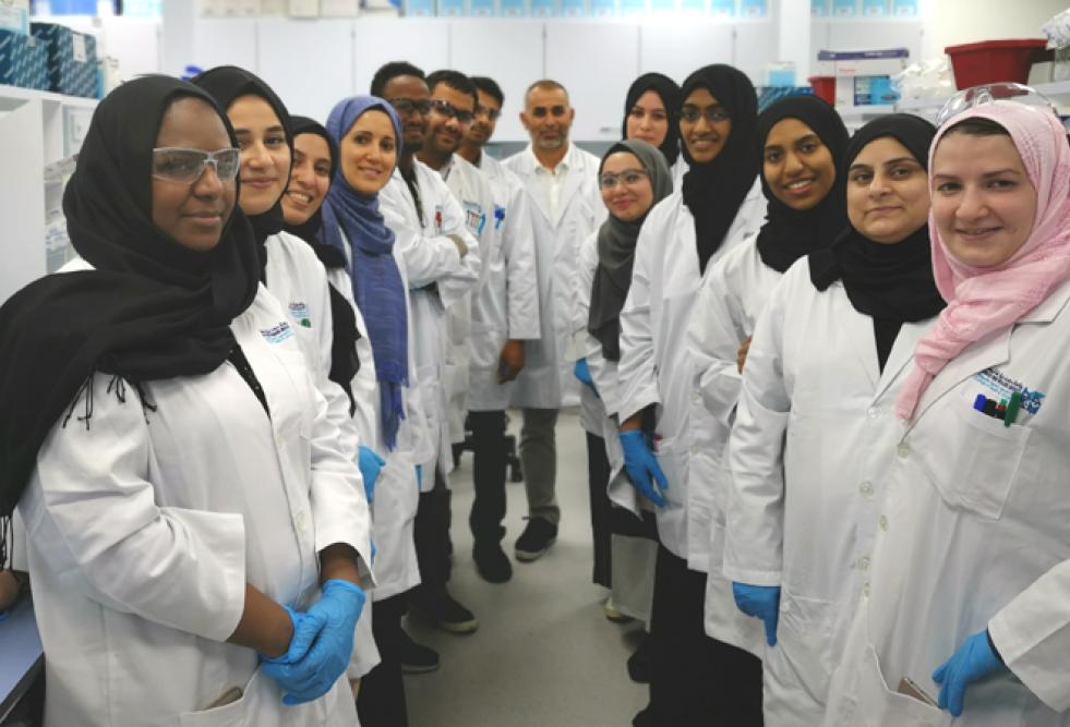 HBKU's College of Health and Life Sciences Workshop Advances Laboratory Skills of Graduate Students
