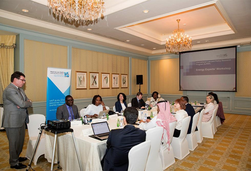 HBKU Holds Workshop on International Energy Law
