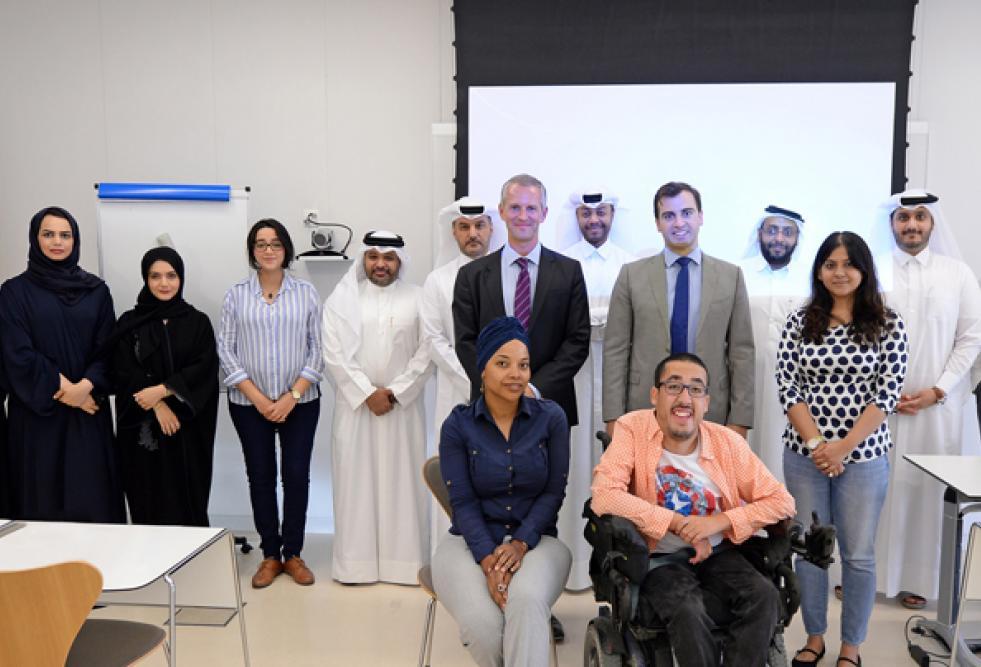كلية القانون والسياسة العامة بجامعة حمد بن خليفة تستضيف خبيرًا في قانون الإنشاءات