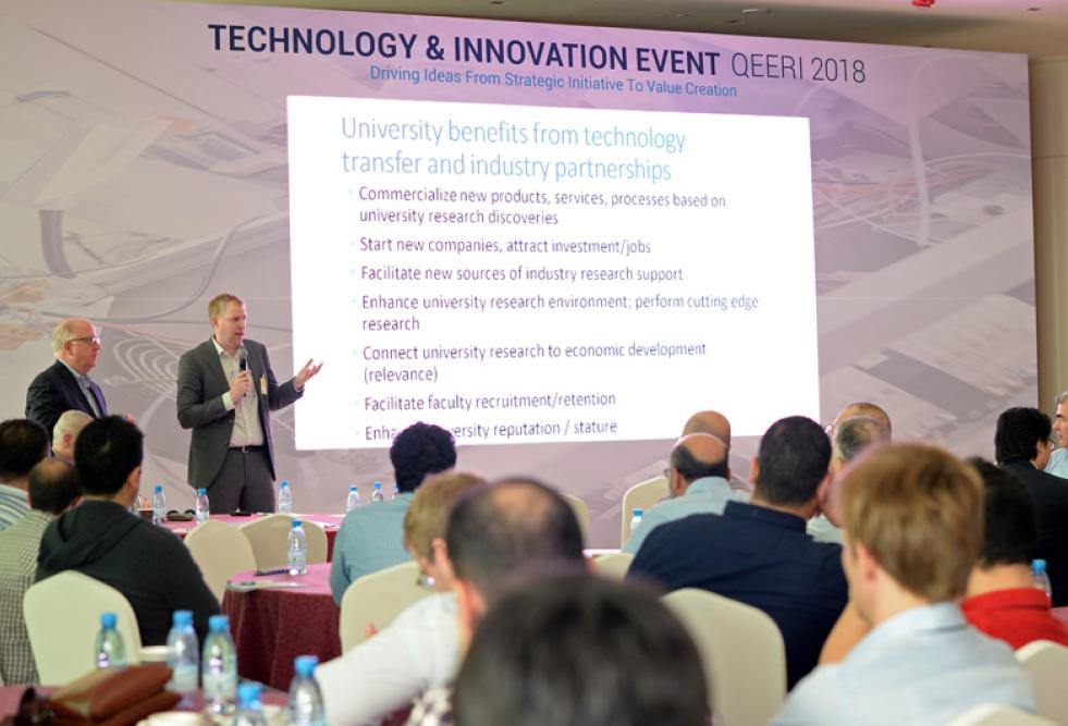 HBKU's QEERI Organizes Technology and Innovation Event