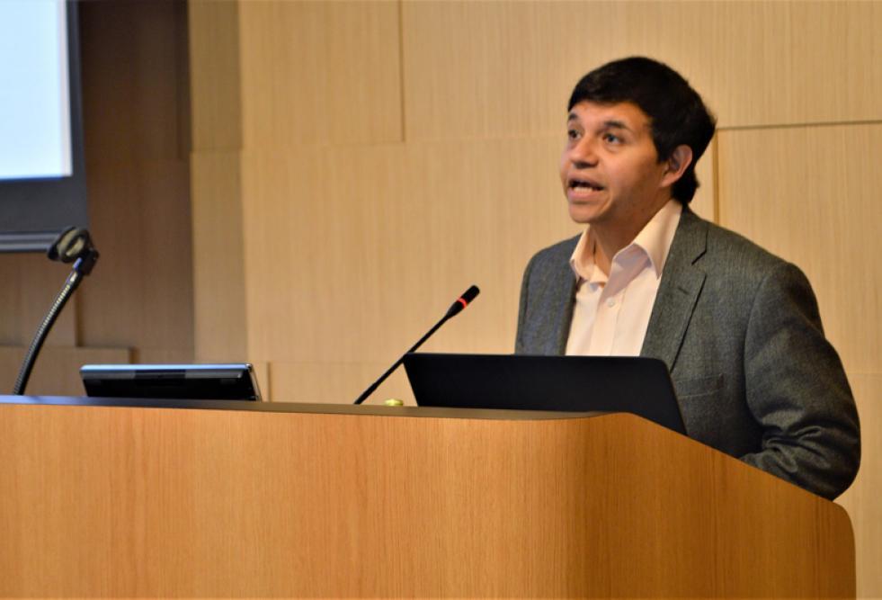 محاضر بمعهد ماساتشوستس للتكنولوجيا يناقش (مستقبل التعليم) في كلية الدراسات الإسلامية بجامعة حمد بن خليفة