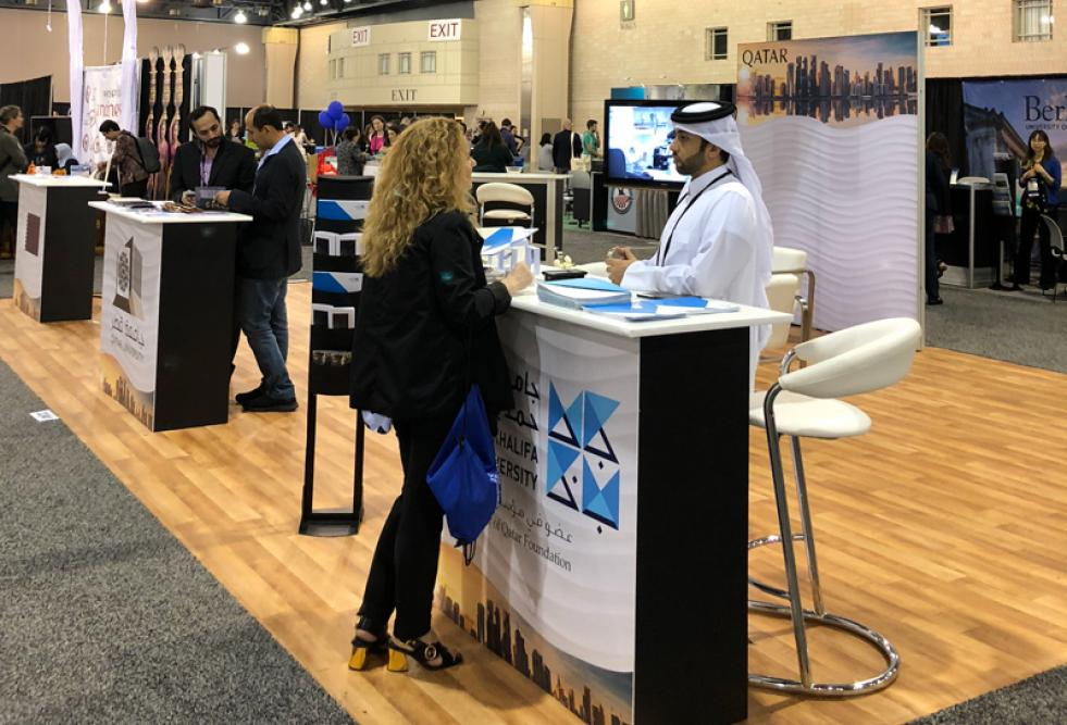 HBKU and QU Delegations Attend NAFSA Global Education Conference