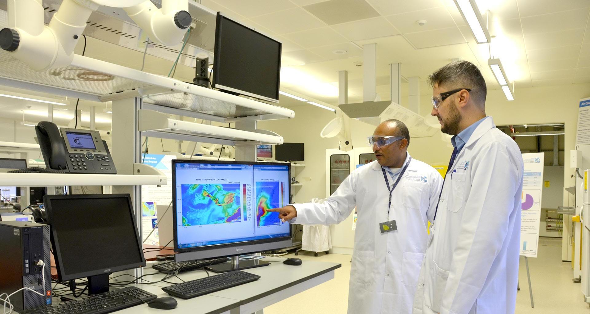 معهد قطر لبحوث البيئة والطاقة بجامعة حمد بن خليفة يطلق رابع محطة لرصد جودة الهواء