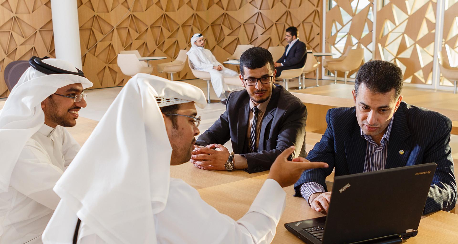 الحياة في جامعة حمد بن خليفة